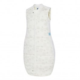 3.5 Tog Organic Cotton Quilt Sleeping Bag - Natural Stars