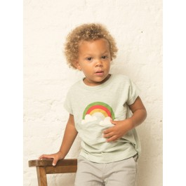 Over the Rainbow Slub Jersey Tee