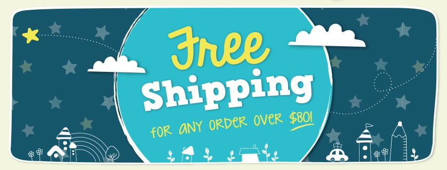 free shipping over 80